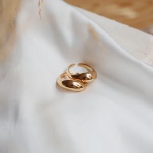 Boomerang ring gold