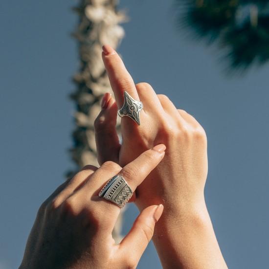 ασημενια δαχτυλιδια μποχο