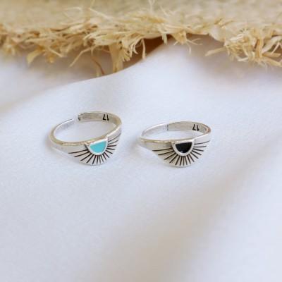 Sunlight ring silver