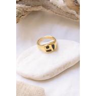 Aria ring Black