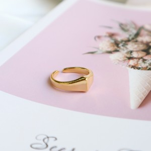 Shape ring cone gold