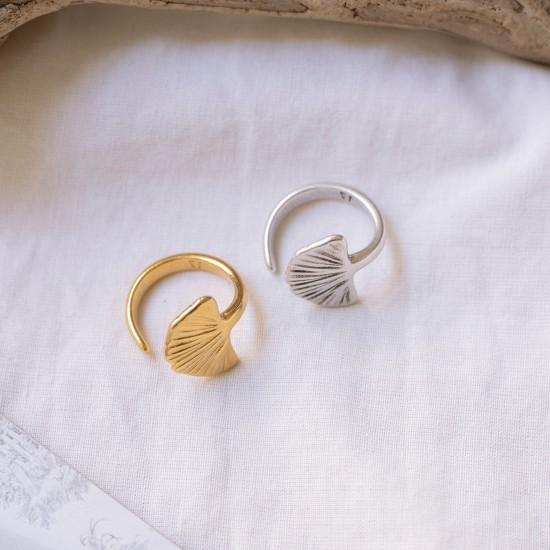 δαχτυλιδι χρυσο γκιγκο μπιλομπα