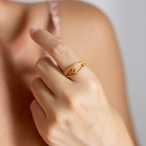 Greca ring gold