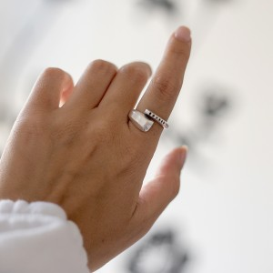 Nagia ring silver
