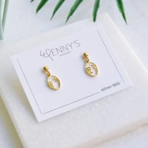 Face earrings 925°