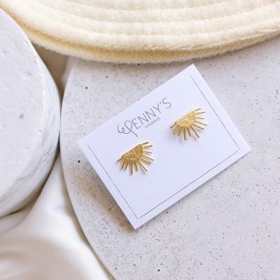 Sun earrings 925°