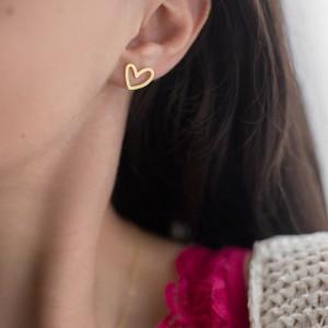 Hearts earrings 925°
