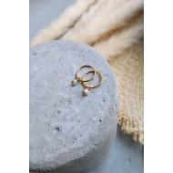 Mini hoops 925° Pearls