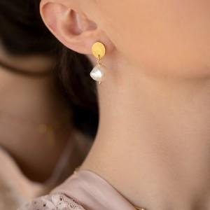 Pearl Earrings 925°