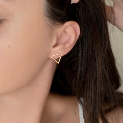 Triangle Earrings 925°