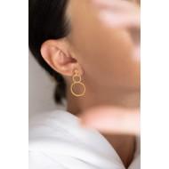 Circles earrings