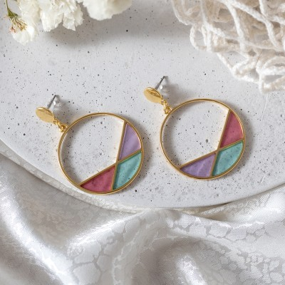 Color Mix Hoops