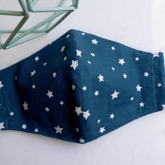 Μάσκα Stars Blue