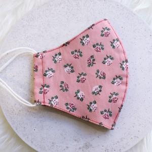 Μάσκα Floral Pink