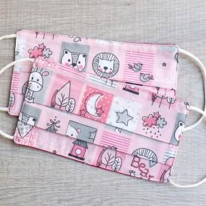 Παιδική μάσκα Baby pink