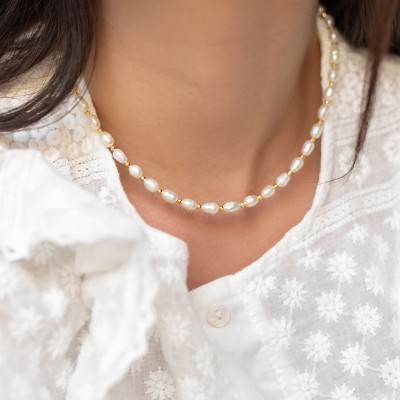 Gold Pearls 925°