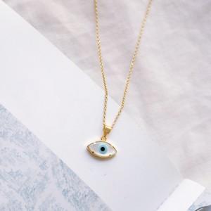 Eye necklace 925° Gold