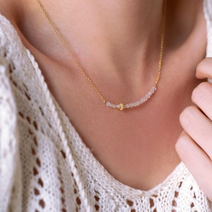 Moonstone Necklace 925°