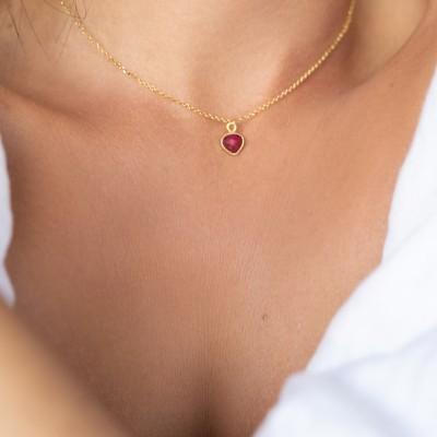 Ruby Heart 925°