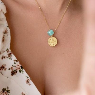 Summer Eye Necklace 925°