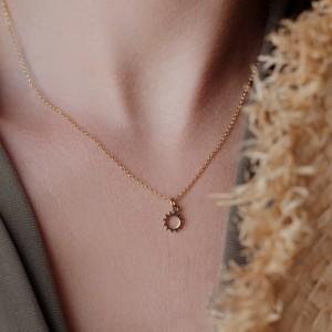 Sun necklace 925°