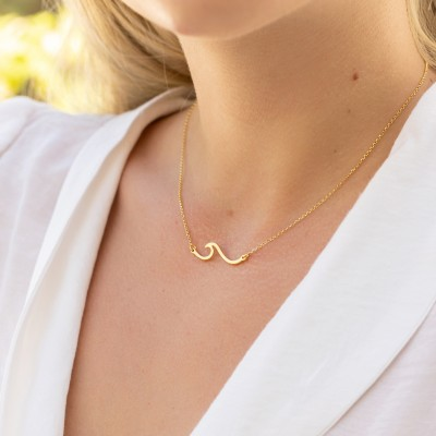 Wave necklace 925°
