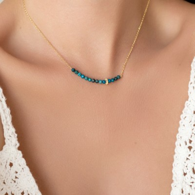 Chrysocolla Necklace 925°