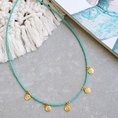 Aqua Sky necklace