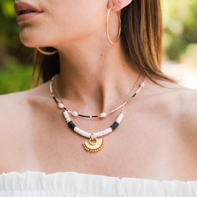 Aurora Necklace Black