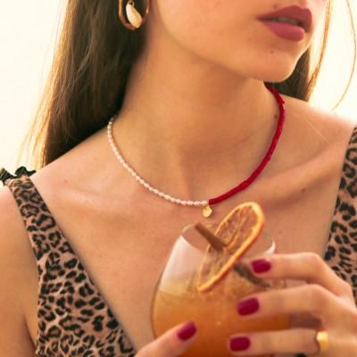 Coralia Necklace 925°