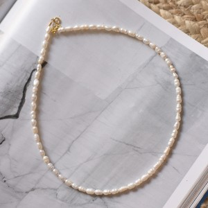 Pearls necklace 925°