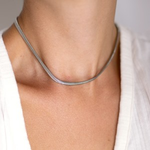 Snake chain silver