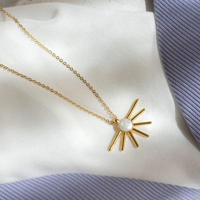 Sun Pearl Necklace