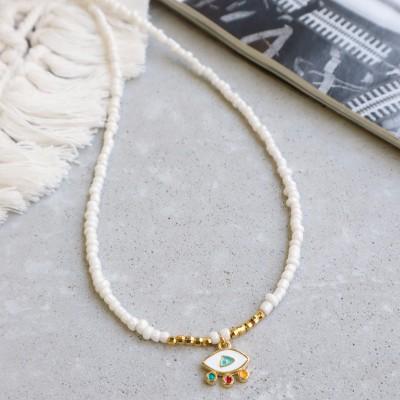 Boho Eye Necklace