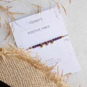 Positive vibes Bracelet 925°