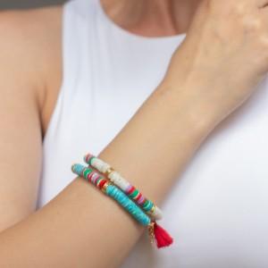 Summer bracelet Tropical blue