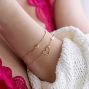 Tiny Heart bracelet 925°