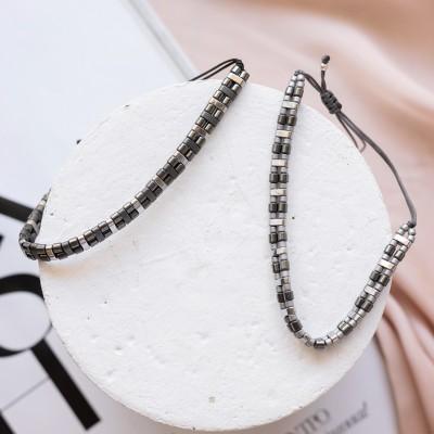 Shades of Grey bracelets