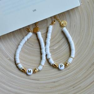 Summer bracelet with your letter