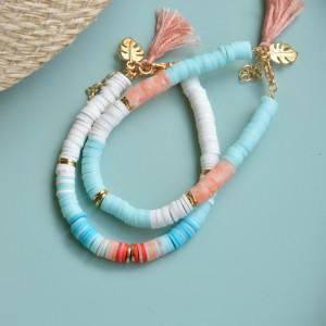 Set bracelets Pastel