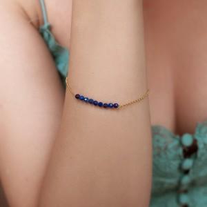 Lapis Lazulis Bracelet 925°