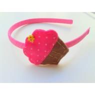 Cupcake φράουλα