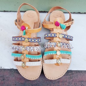 Handmade Boho Gladiator Sandals
