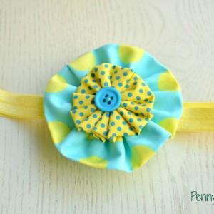 Βρεφική κορδέλα Yellow Candy