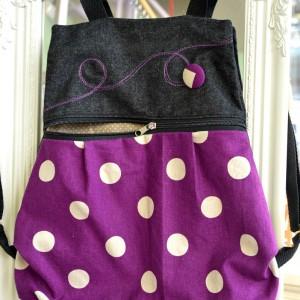 Τσάντα πλάτης Purple