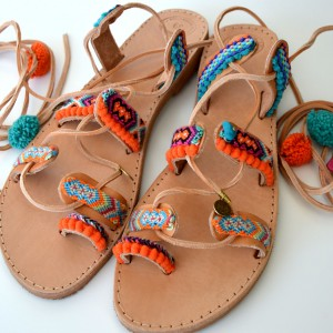 Handmade Greek Sandals Friendship