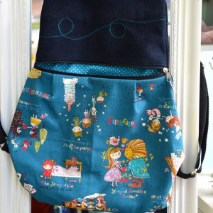 Handmade Backpack Fairytales
