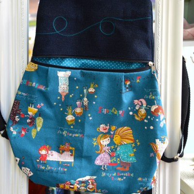 Handmade Backpack Fairytales