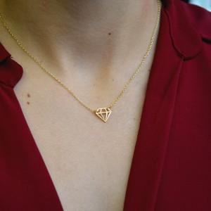 Κολιέ Diamond Ασήμι 925°