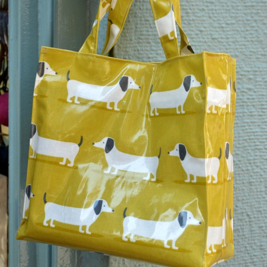 Lunch bag Dogs Musturd
